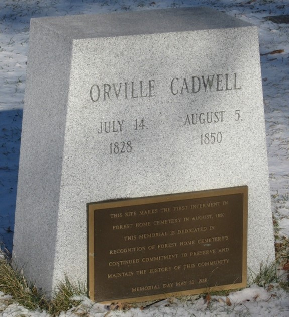 Orville Cadwell Monument