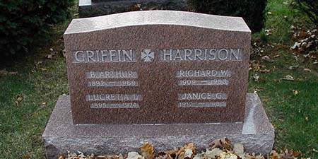 Forest Home Cemetery - Griffin Harrison Memorialization