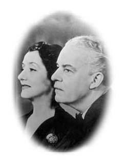 Alfred Lunt (1892 to 1977) & Lynn Fontane (1897 to 1983)